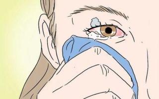 Что делать в домашних условиях, если клей попал в глаза – экстренная помощь