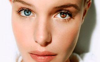 Глаза разного цвета — как называется патология
