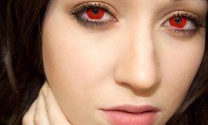 Не навредят ли глазам красные линзы: виды, выбор, использование