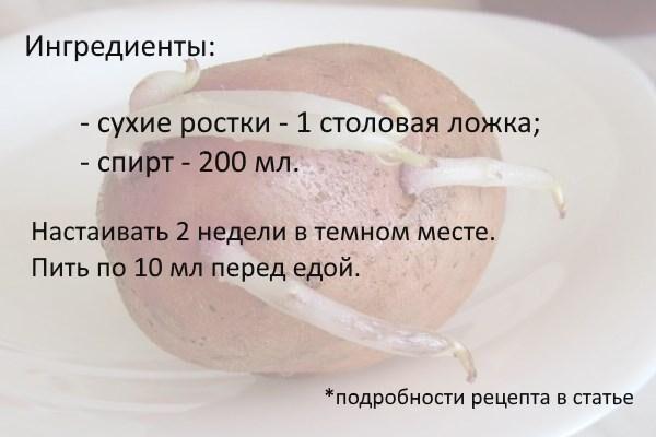 Картофельные ростки