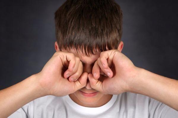 Глаза после сварки