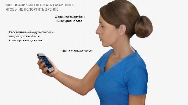 Расстояние до смартфона