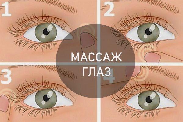 Массаж глаз