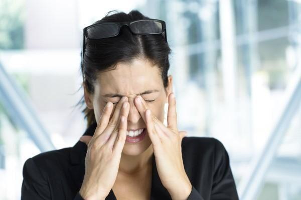 Мигрень глаз