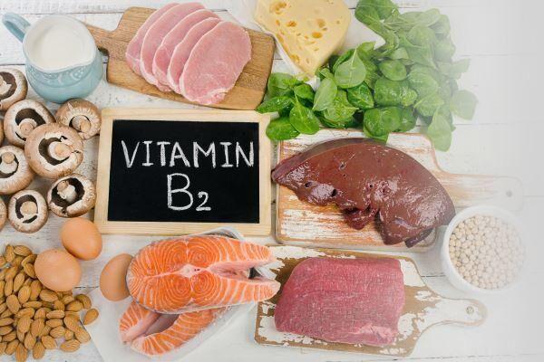 Продукты с витамином В2