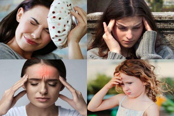 Болит голова после слез