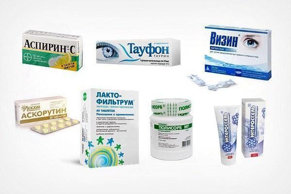 Препараты для лечения последствий алкоголя