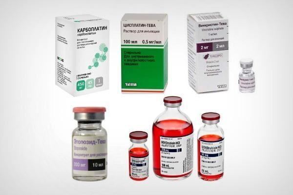 Препараты химиотерапии