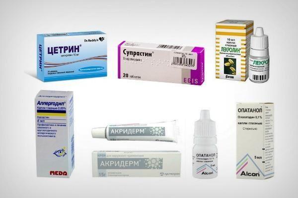 Препараты для лечения аллергии