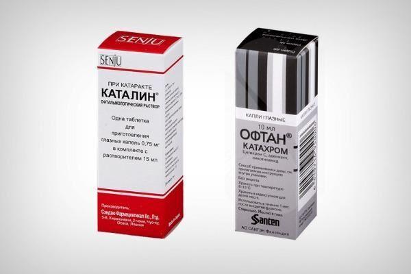 Профилактические препараты при катаракте