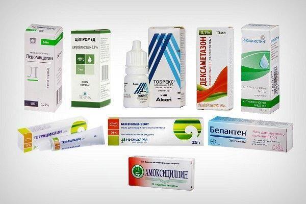 Препараты для лечения перхоти на ресницах