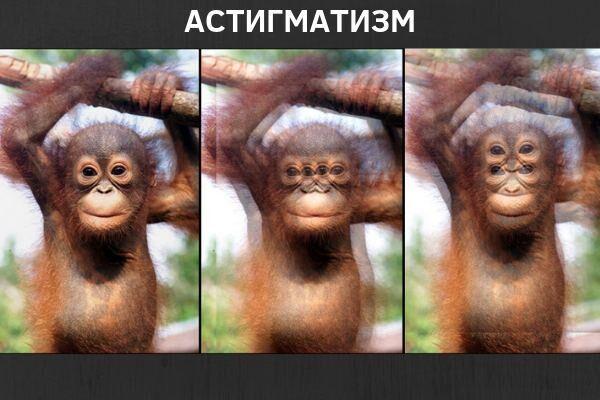 Как видят дети с астигматизмом