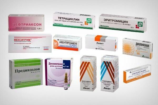 Препараты для лечения эндофтальмита