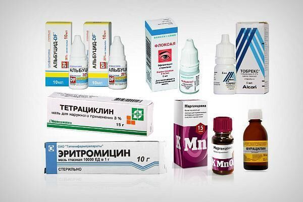 Препараты для лечения глазных инфекций