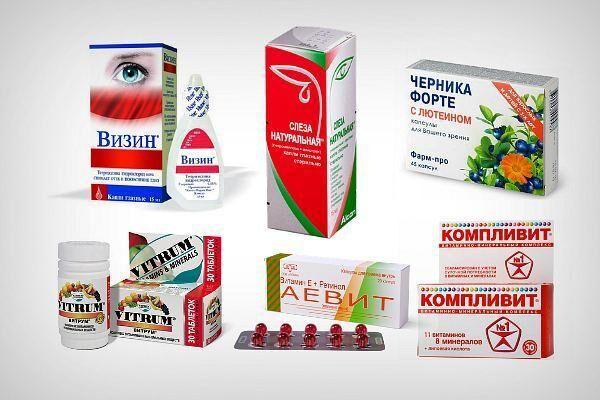 Препараты для лечения зрения