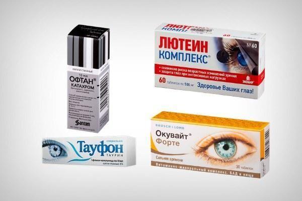 Препараты для лечения катаракты