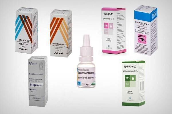 Препараты для лечения склерита