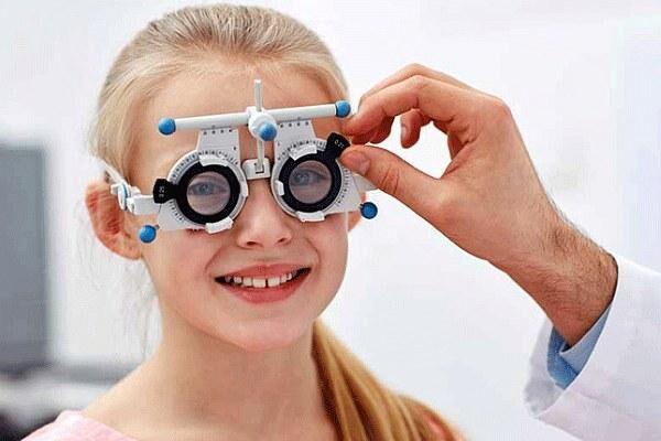 Анизометропия у девочки