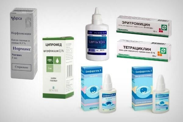 Лечение мейбомиевого блефарита препаратами
