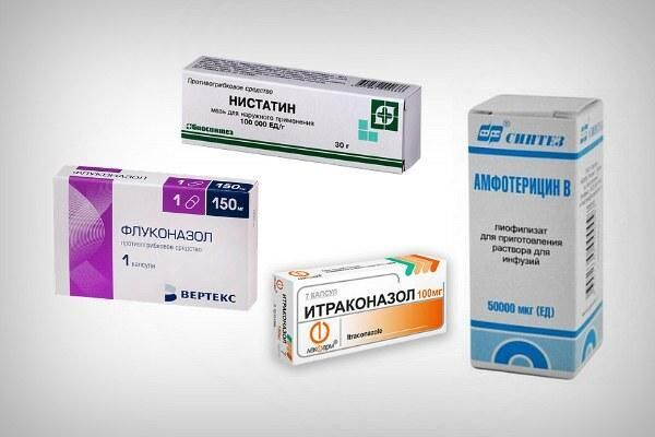Препараты для лечения офтальмомикоза