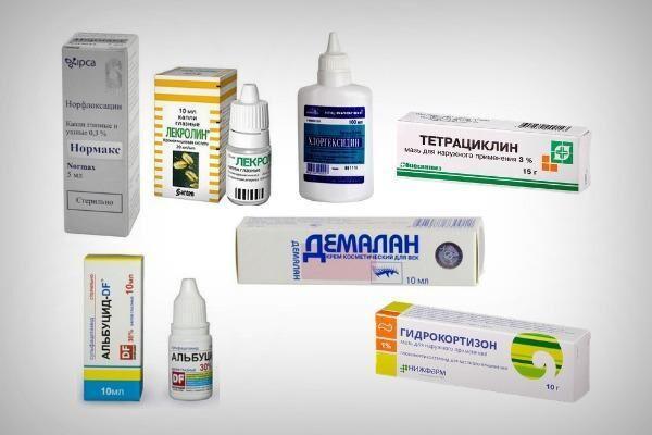 Препараты для лечения блефарита у детей