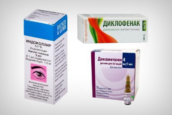 Противовоспалительные препараты при астигматизме