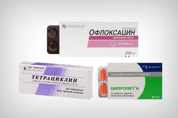 Таблетки для лечения конъюнктивита