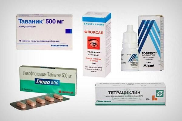 Препараты для лечения хламидийного конъюнктивита