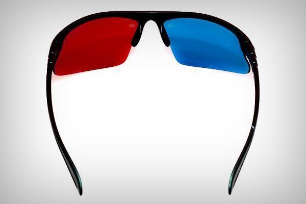 Красно-синие фильтры на очках