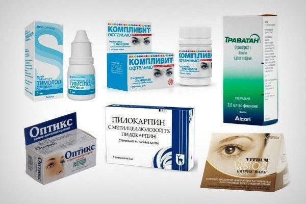 Препараты для профилактики глаукомы