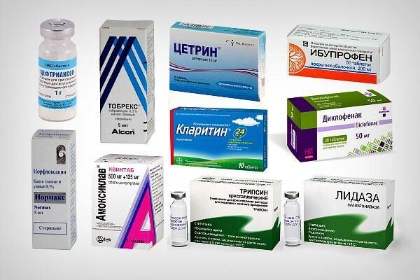 Препараты для лечения ирита