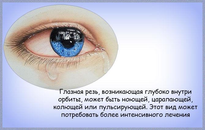Щипит глаза и слезятся что делать