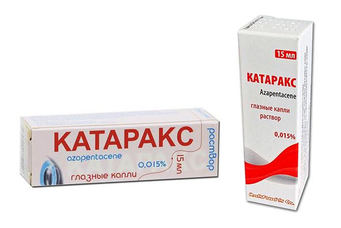 Катаракс - капли применяемые при катаракте