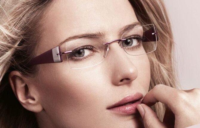 Безоправочные очки