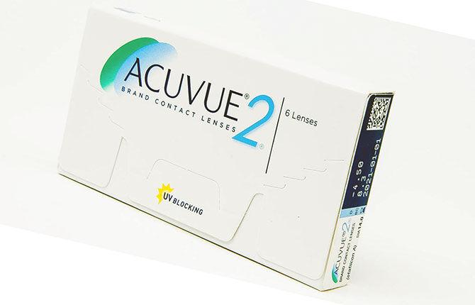 Линзы Acuvue 2