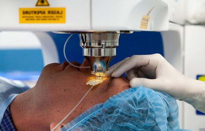 Лазерная коррекция органов зрения