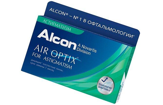 Линзы Air Optix for Astigmatism