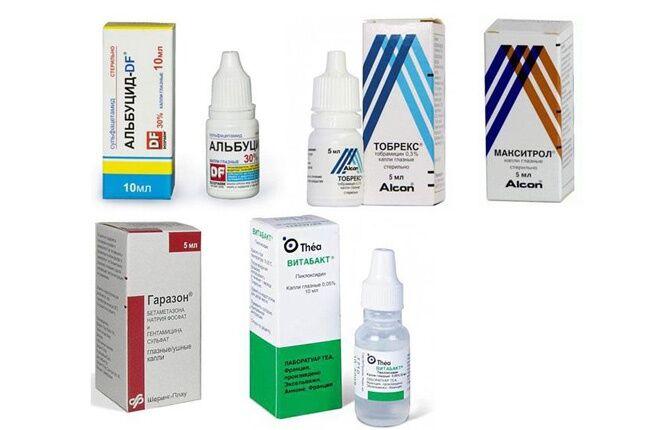 Глазные препараты