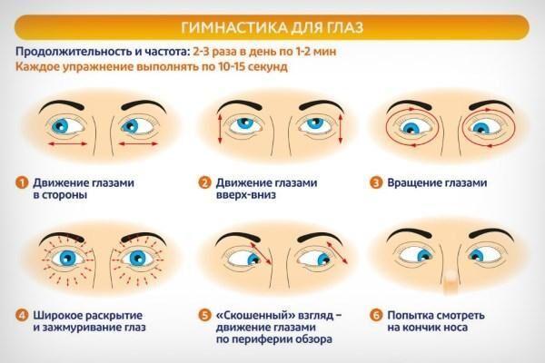 Упражнения для глаз как сделать их больше 207